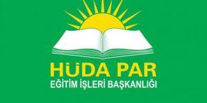 HÜDA PAR: Medeniyetimizi inşa edecek yerli bir eğitim sistemi hayata geçirilmeli
