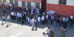 Diyarbakırlı üniversite adaylarının zorlu günü