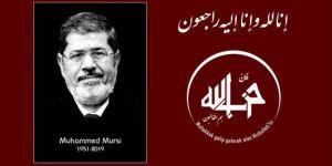 Hizbullah leader Edip Gümüş conveys a condolence message for Morsi