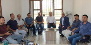 HÜDA PAR Nusaybin İlçe Başkanlığı'ndan Emlak Yönetimi Ofisi'ne ziyaret