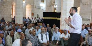 Şanlıurfa'da hacı adaylarına hac eğitimi verildi