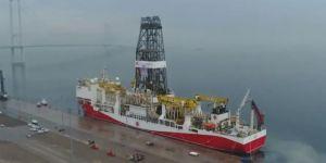 Turkey's drillship Yavuz on its way to the Mediterranean