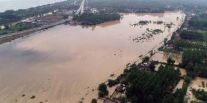 Samsun Terme'de sel: Köprüler yıkıldı, tarım arazileri sular altında kaldı