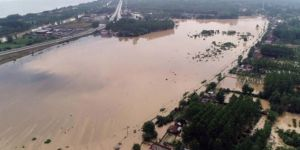 Flood in Samsun: Bridges collapsed, farmland flooded