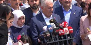 Binali Yıldırım cast ballot in Istanbul re-run election