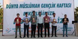 Şanlıurfa'da Müslüman Gençlik Haftası ödül töreniyle son buldu