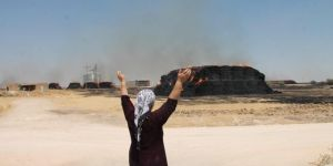 Kızıltepe'de anız yangını köye sıçradı: 15 bin ağaç ve tonlarca saman yandı
