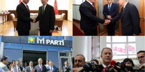 Bakan Akar'dan parti genel başkanlarına ziyaret