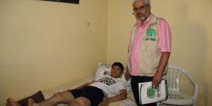 Romatoid Artrit hastası genç, tedavi edilmezse hiç yürüyemeyecek