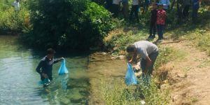 Kozluk'daki Balıklı Göl turizme kazandırılıyor