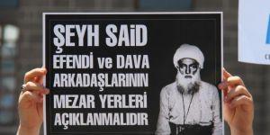 Devlet arşivinde bulunan Şeyh Said ve Bediuzzaman'ın kabir yerleri ortaya çıkarılmalı