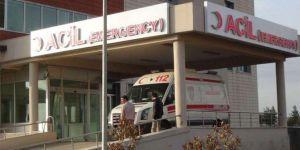 Çınar'da okul inşaatından düşen işçi ağır yaralandı