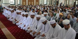 Midyat'ta 20 medrese öğrencisi icazet aldı
