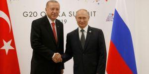 President Erdoğan meets with President Putin of Russia