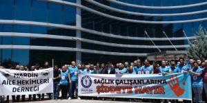 Mardin'de doktorların darp edilmesine tepki