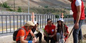 81 il ve dünya başkentlerinde ağaç dikmek için yola çıktı