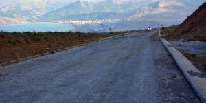 Nemrut Krater Gölü'nün bozulan yolu onarıldı