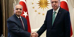 Erdoğan Iraklı heyeti kabul etti