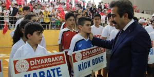 Diyarbakır'da yaz sporları okulları açılışı yapıldı