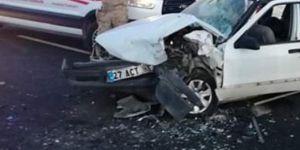 Nizip'te trafik kazası: 11 yaralı
