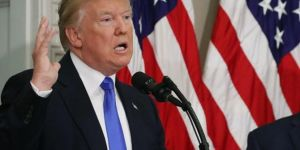 Trump: İran'a ait insansız hava aracını düşürdük