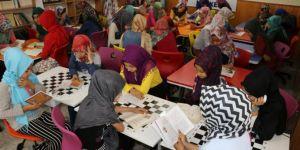 Yaz Kur'an kurslarında çocuklar hem öğreniyor hem eğleniyor
