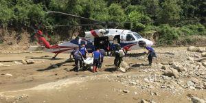 Akçakoca'da selde kaybolan 1 kişi daha bulundu