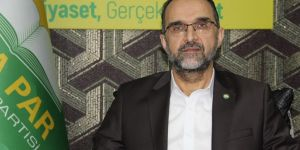 HÜDA PAR Genel Başkanı Sağlam'dan Süleyman Arif Emre mesajı