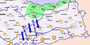 Meteoroloji'den gece saatleri için sağanak uyarısı