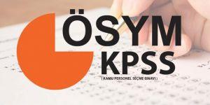 KPSS Alan Bilgisi soru ve cevapları yayımlandı