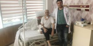 Mardin'de gırtlak kanseri ameliyatı yapıldı