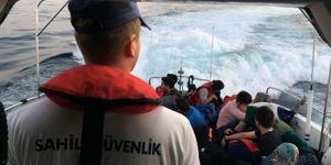 Didim'de 40 düzensiz göçmen yakalandı