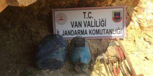 Erciş'te PKK'ye ait sığınak bulundu
