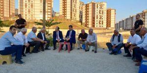 Şırnak Valisi Pehlivan konutları inceleyerek vatandaşı dinledi