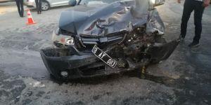 Tatvan'da kaza: 2 yaralı
