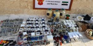 Police seize a ton of explosives in operation against DAESH