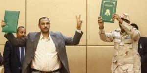 Sudan'da asker ve sivil muhalefet arasında önemli imza