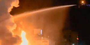 Ankara'da otelde yangın