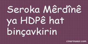 Seroka Mêrdînê ya HDPê hat binçavkirin