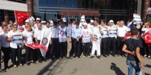 4D'li işçiler mali ve özlük haklarını istiyor