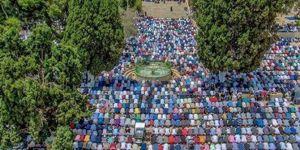 """Kudüs'teki İslami heyetlerden """"Mescid-i Aksa"""" kararı"""