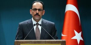 Kalın holds a phone conversation with Bolton