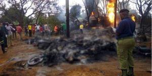 Tanzanya'da yakıt tankeri patladı: 70 ölü