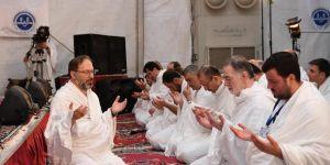 Diyanet İşleri Başkanı Erbaş'tan Arafat'ta Vakfe duası