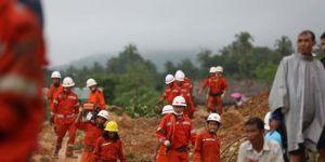 Myanmar'daki heyelanda ölü sayısı 51 oldu