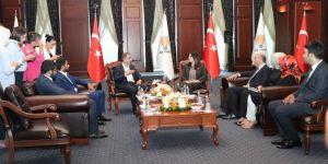 HÜDA PAR' dan AK Parti ve Saadet Partisine bayram ziyareti