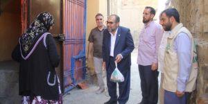 HÜDA PAR Diyarbakır İl Başkanından anlamlı kurban eti dağıtımı
