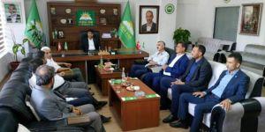 HÜDA PAR Gaziantep İl Başkanlığına taziye ve bayram ziyareti