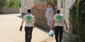 Umut Kervanından Midyat'ta kurban eti dağıtımı