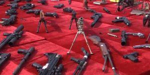 Çin 107 bin silahı imha etti